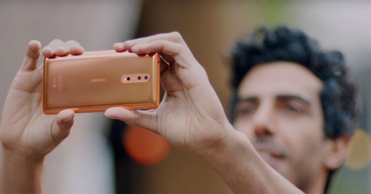 reservas del Nokia 8