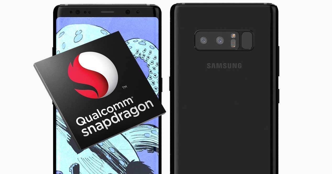 Samsung Galaxy Note 8 Snapdragon