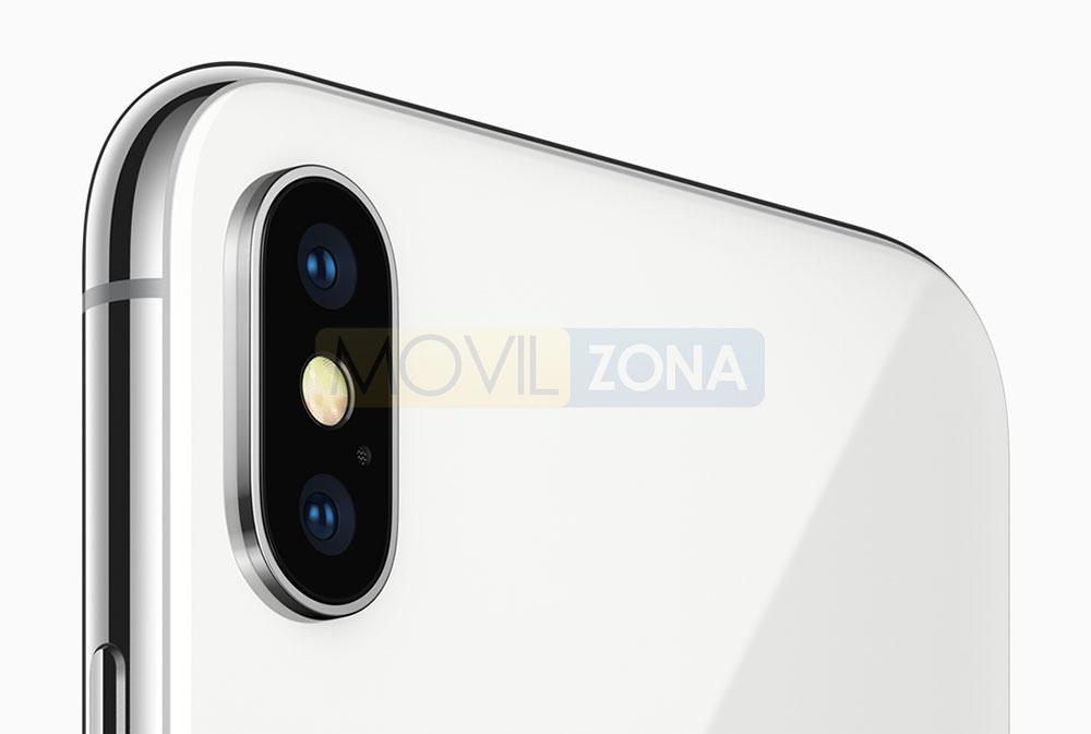 Apple iPhone X detalle de la cámara