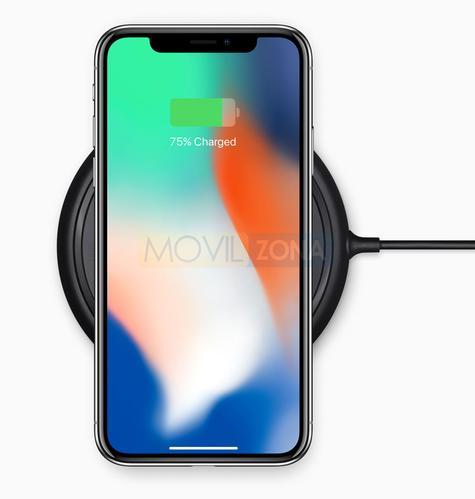 Apple iPhone X carga inalámbrica