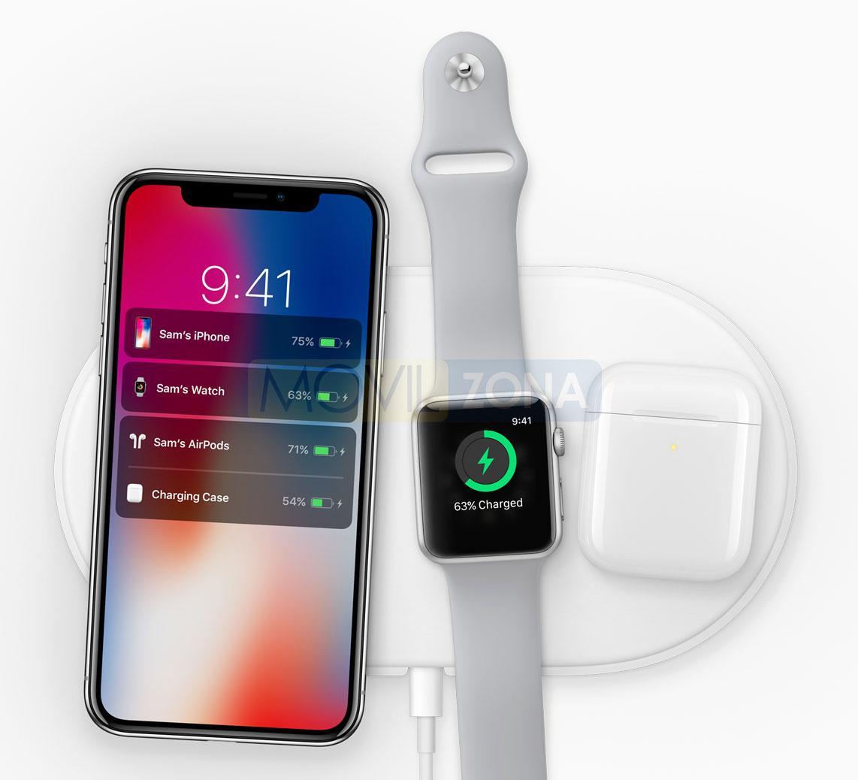 Apple iPhone X con Apple Watch