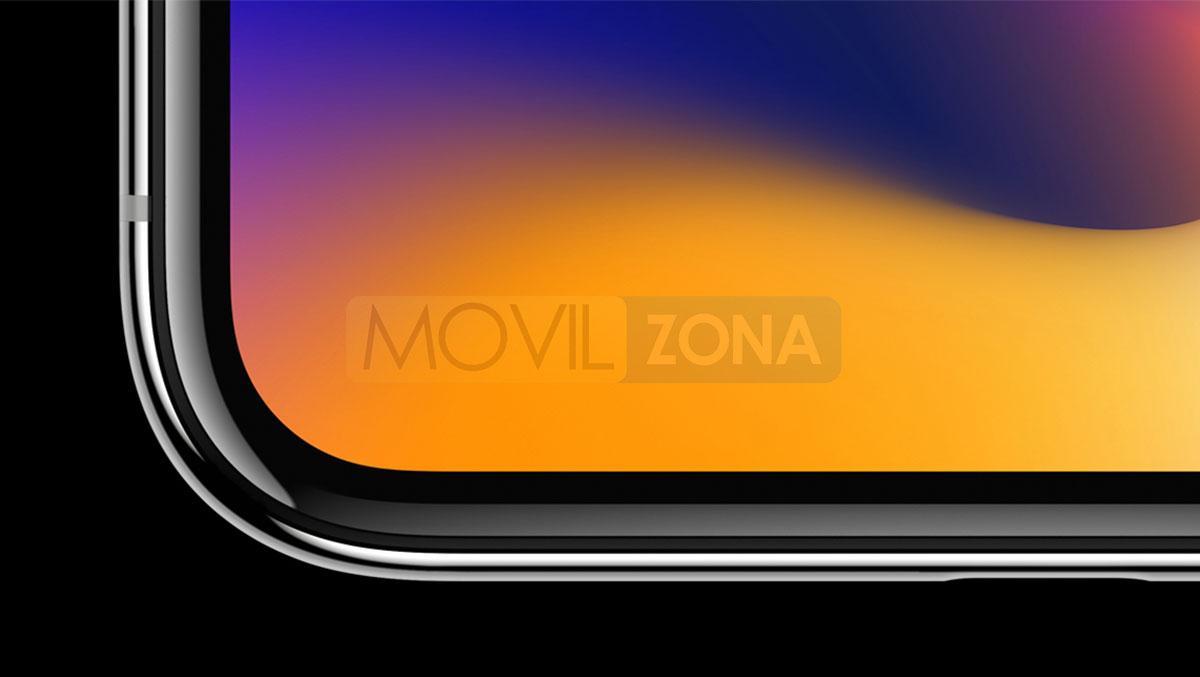 Apple iPhone X diseño y perfil de carcasa de aluminio