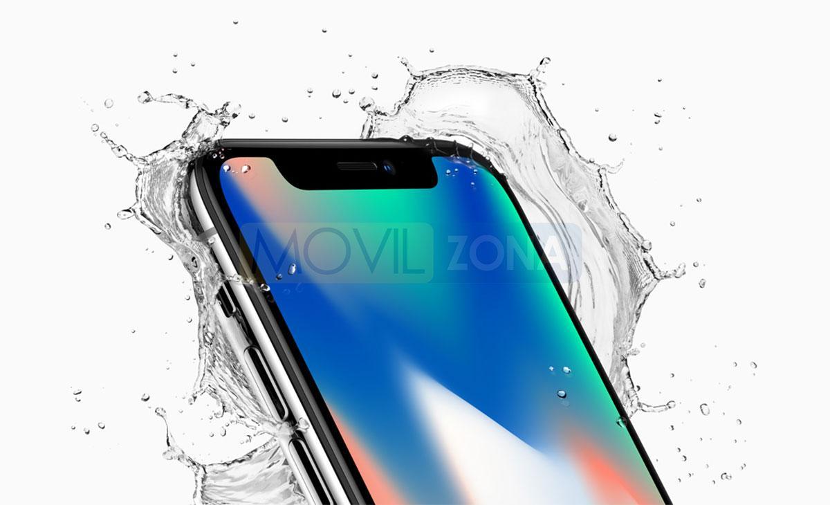 Apple iPhone X resistencia al agua