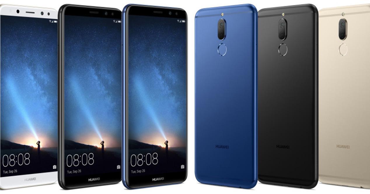 Foto de prensa del Huawei Mate 10 Lite