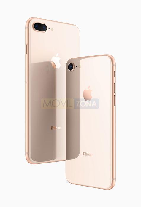 iPhone 8 Plus dorado