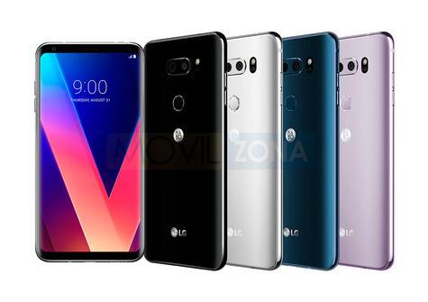 LG V30 colores