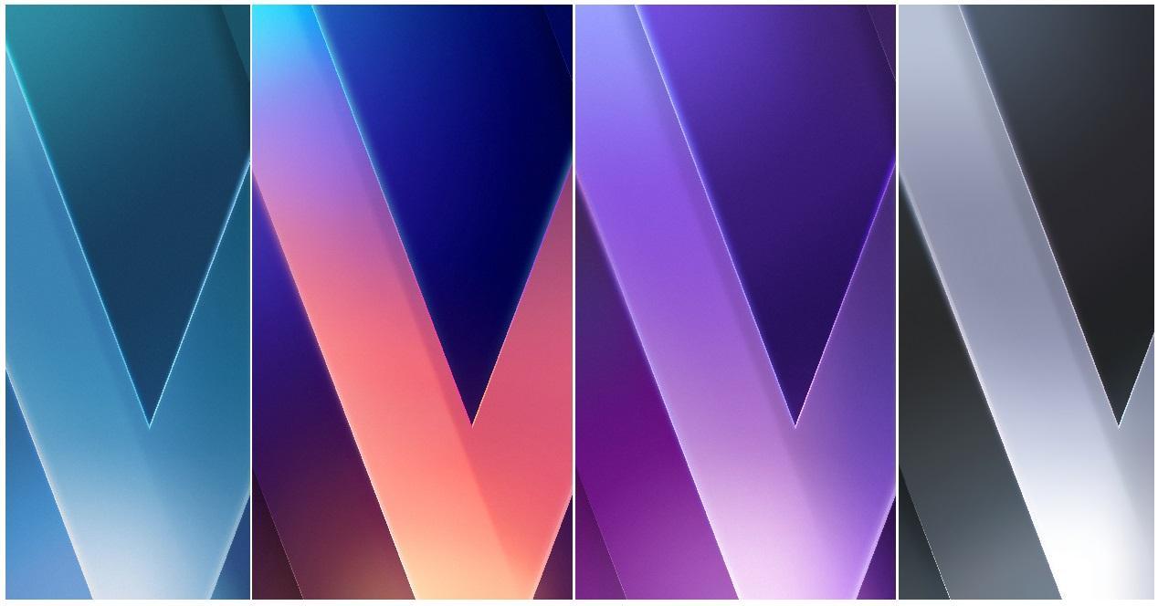 fondos de pantalla del LG V30
