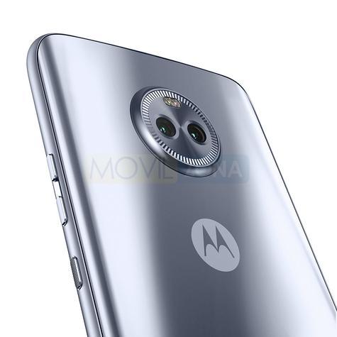 Motorola X4 detalle de la cámara