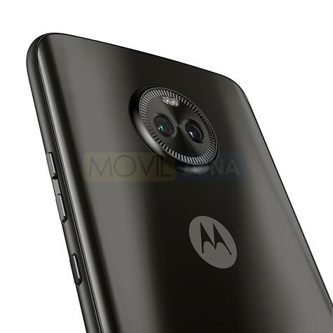 Motorola X4 negro detalle de la cámara