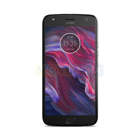 Motorola X4 negro frontal