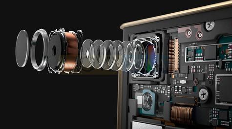 Sony Xperia XA1 Plus lentes de la cámara digital