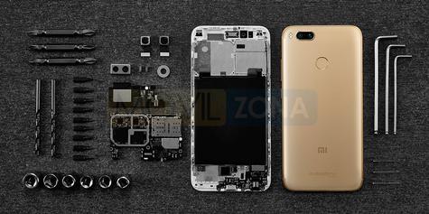 Xiaomi MI A1 partes