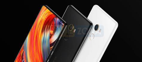 Xiaomi Mi Mix 2 negro y blanco