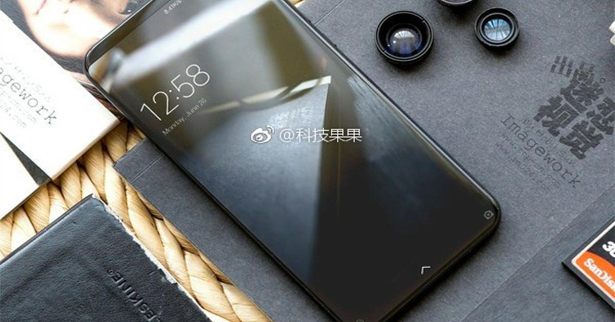 Frontal del Xiaomi Mi Mix 2