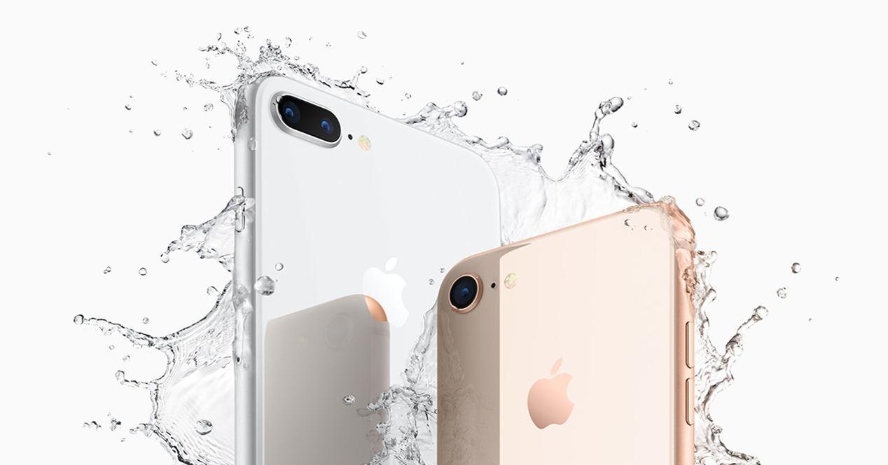 Cámaras del iPhone 8 Plus y iPhone 8
