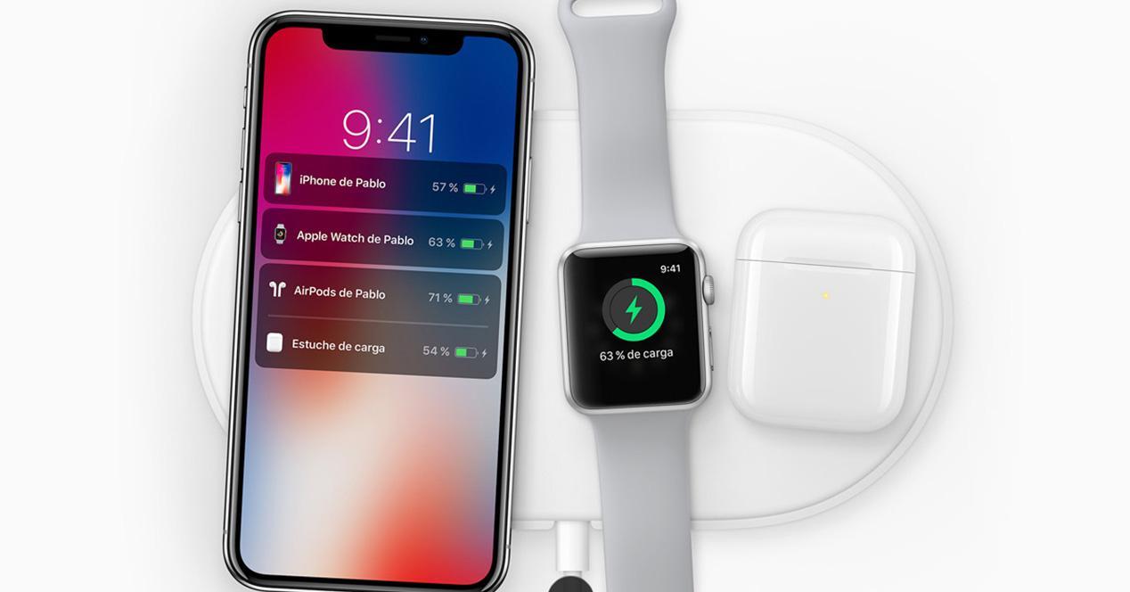 Carga rápida del iPhone X