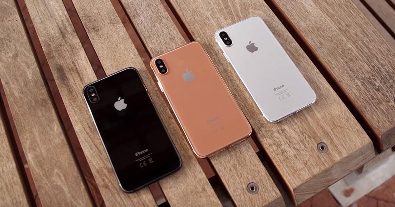 iPhone X en color cobre
