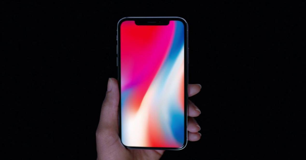 caida en bolsa del iPhone X