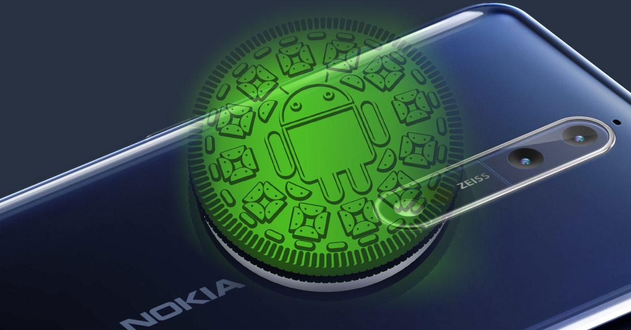 Nokia 8 con Android Oreo