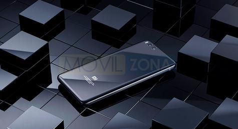 Xiaomi Mi Note 3 detalle parte trasera