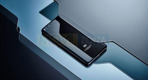 Xiaomi Mi Note 3 negro vista trasera