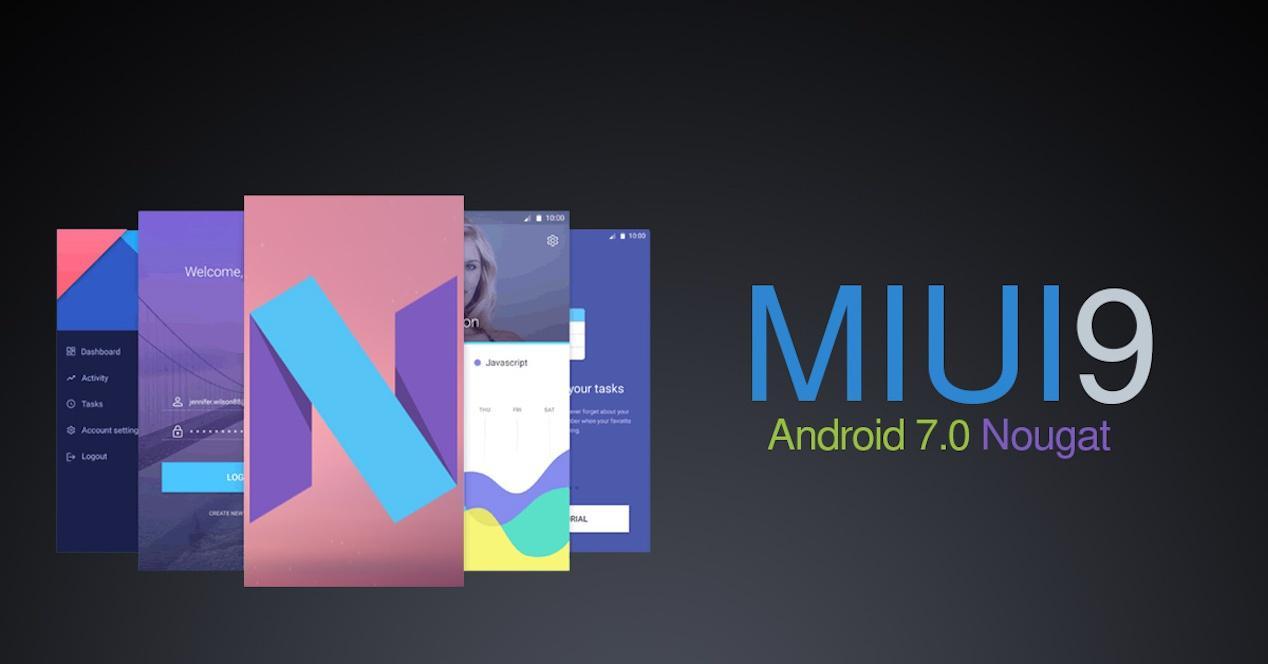 Imagen promocional de MIUI 9