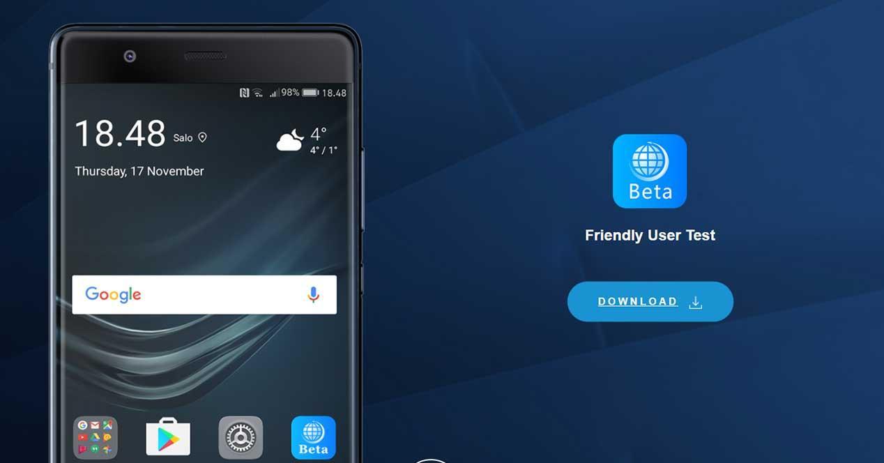 Programa para probar Android 8 Oreo en el Huawei Mate 9