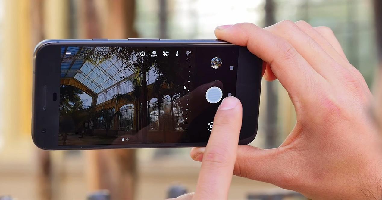 Aplicación de cámara del Google Pixel