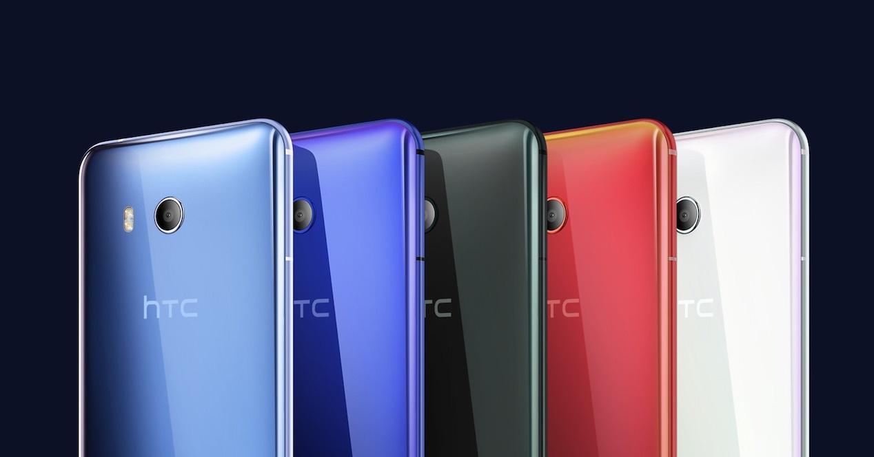 Imagen promocional del HTC U11