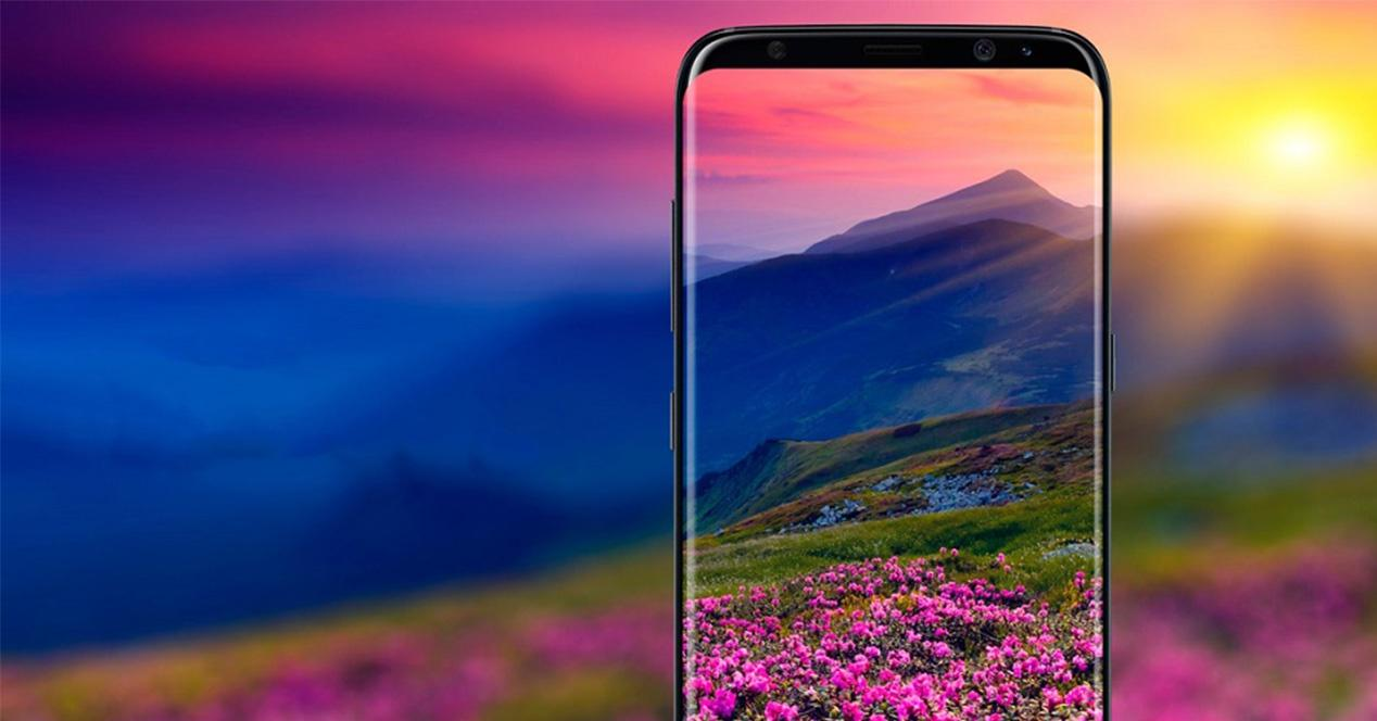 Concepto del Samsung Galaxy S9