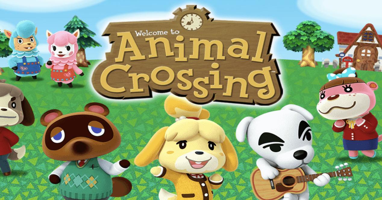 Portada de animal Crossing