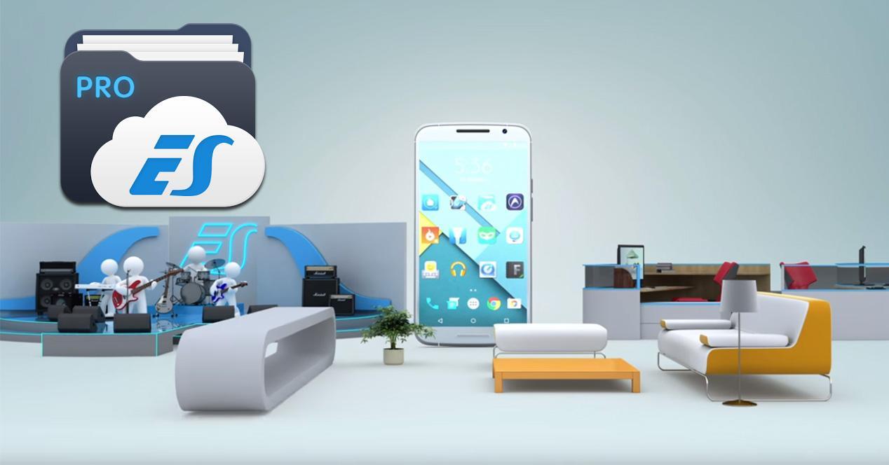 Aplicación Android ES File Explorer Pro