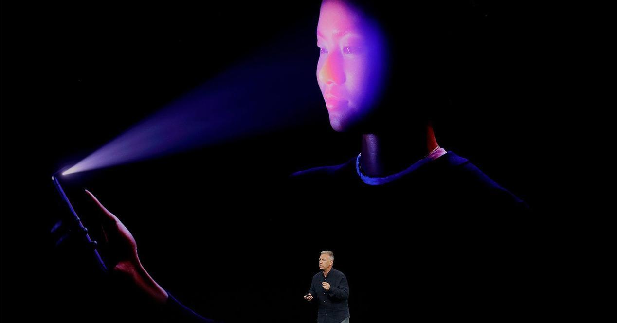 Face ID reconocimiento facial 3D para iPad Pro