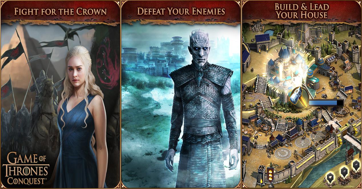 Imágenes de Game of Thrones Conquest para Android e iOS