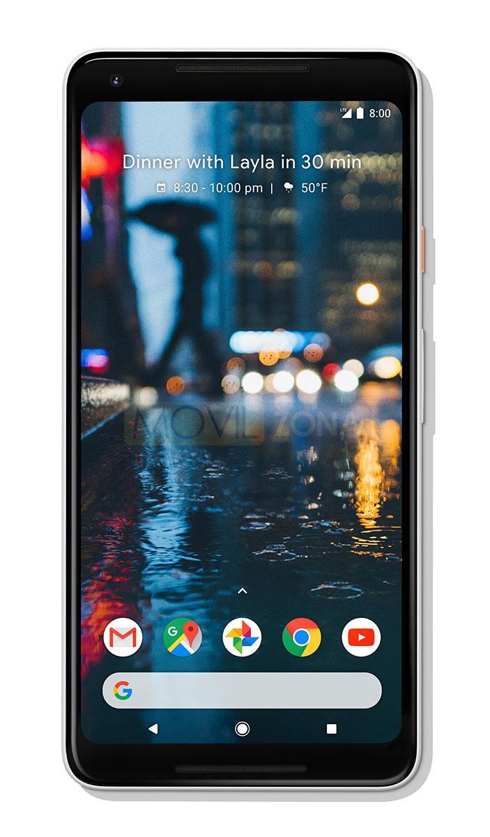 Google Pixel 2 XL negro frontal