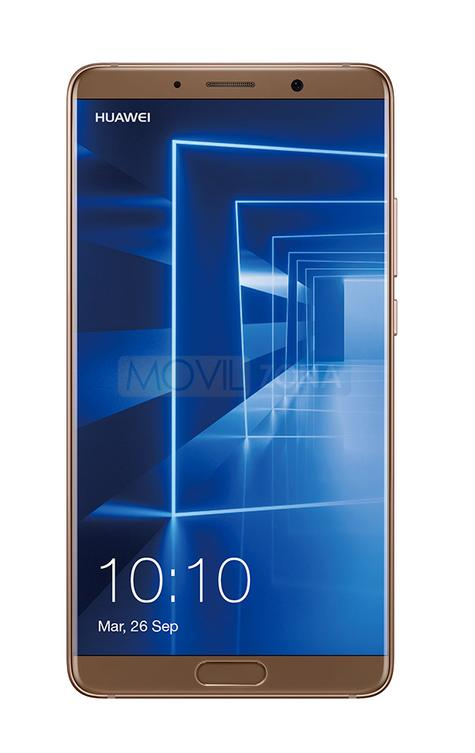 Huawei Mate 10 frontal color oro