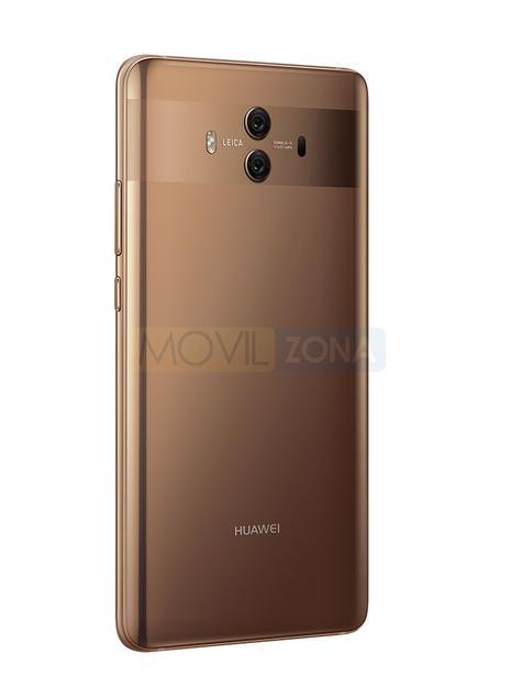 Huawei Mate 10 dorado detalle de la cámara digital