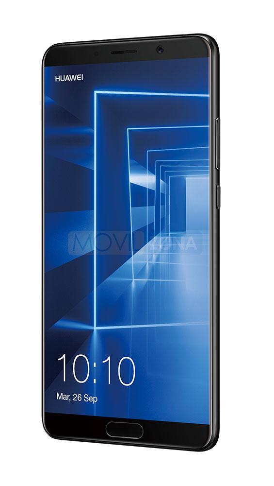 Huawei Mate 10 negro vista lateral