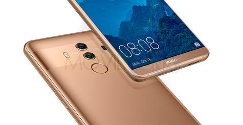 Huawei Mate 10 Pro dorado
