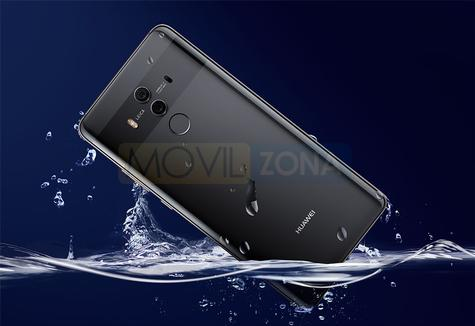 Huawei Mate 10 Pro agua
