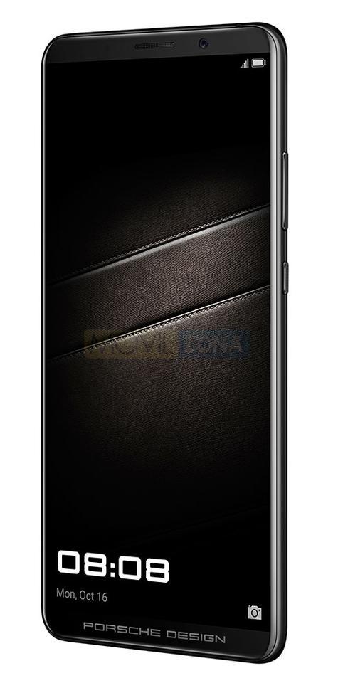 Huawei Mate 10 Porsche vista lateral