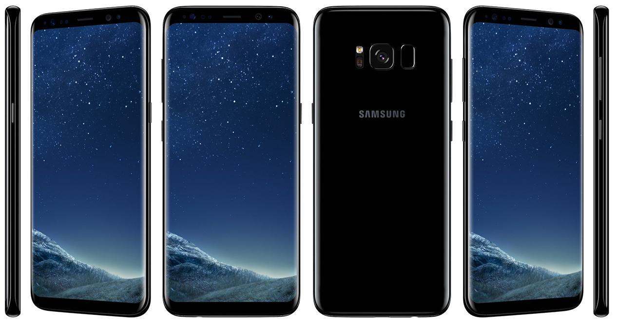 Imagen promocional del Samsung Galaxy S8