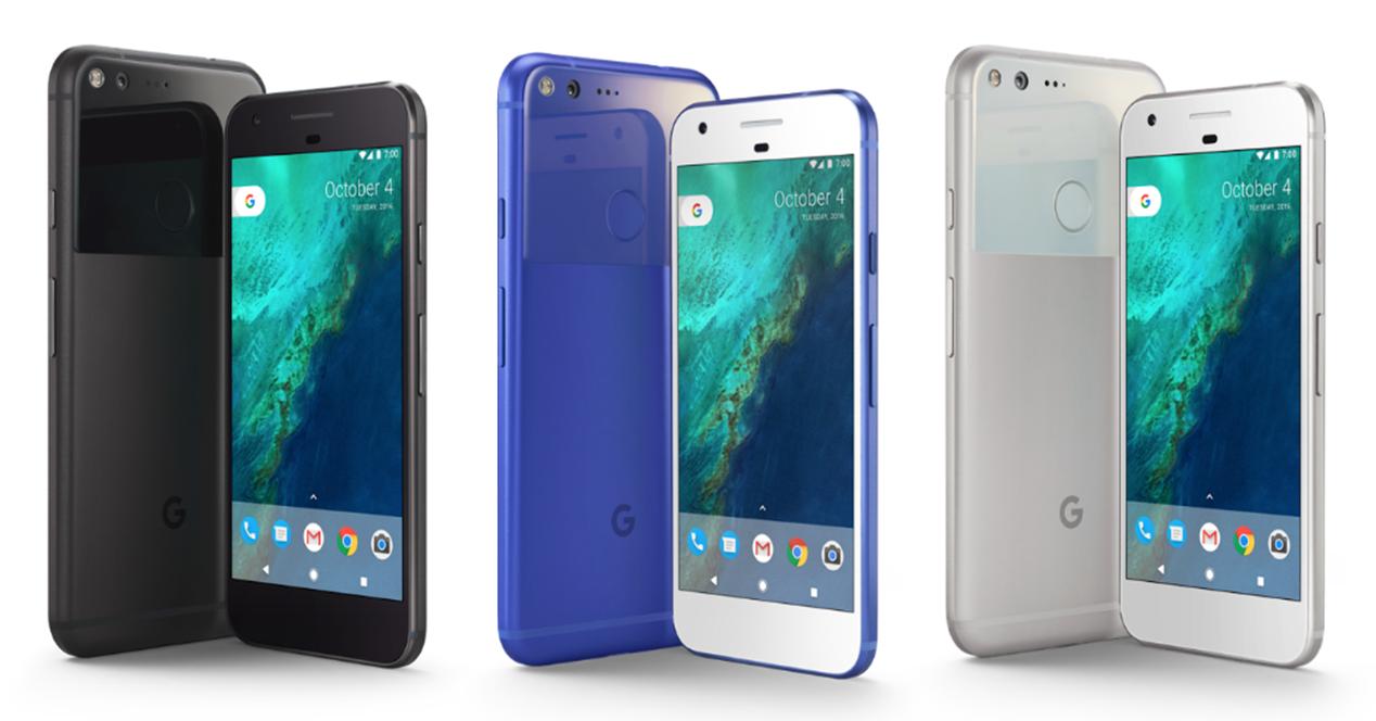 Diferentes modelos del Google Pixel 2 XL