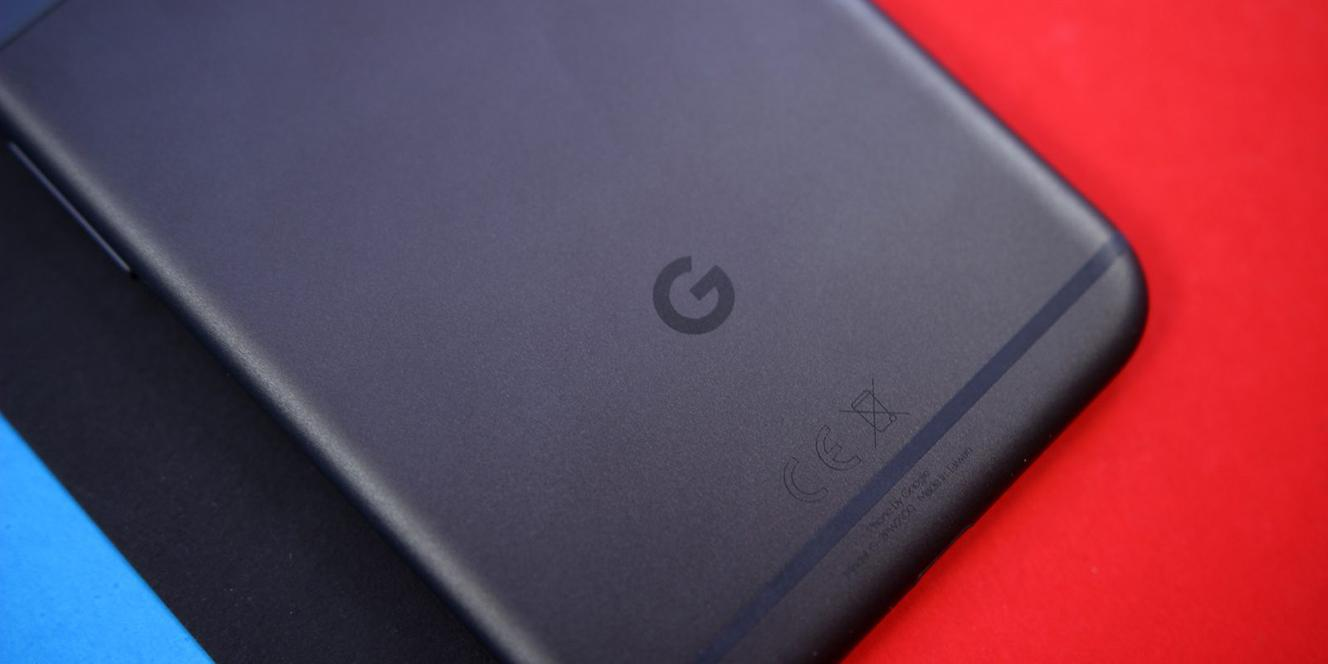 Logotipo de Google en el Google Pixel
