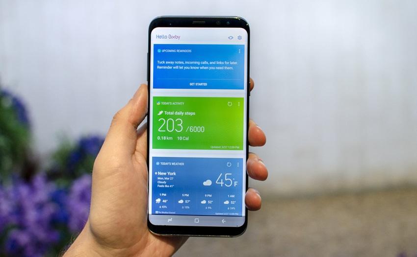 Botón específico de Bixby 2.0 para el Samsung Galaxy S8