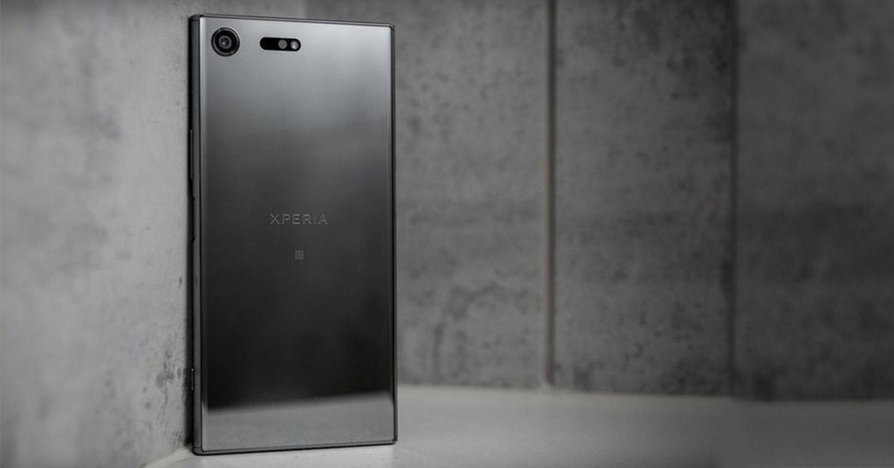 Sony Xperia XZ Premium gris