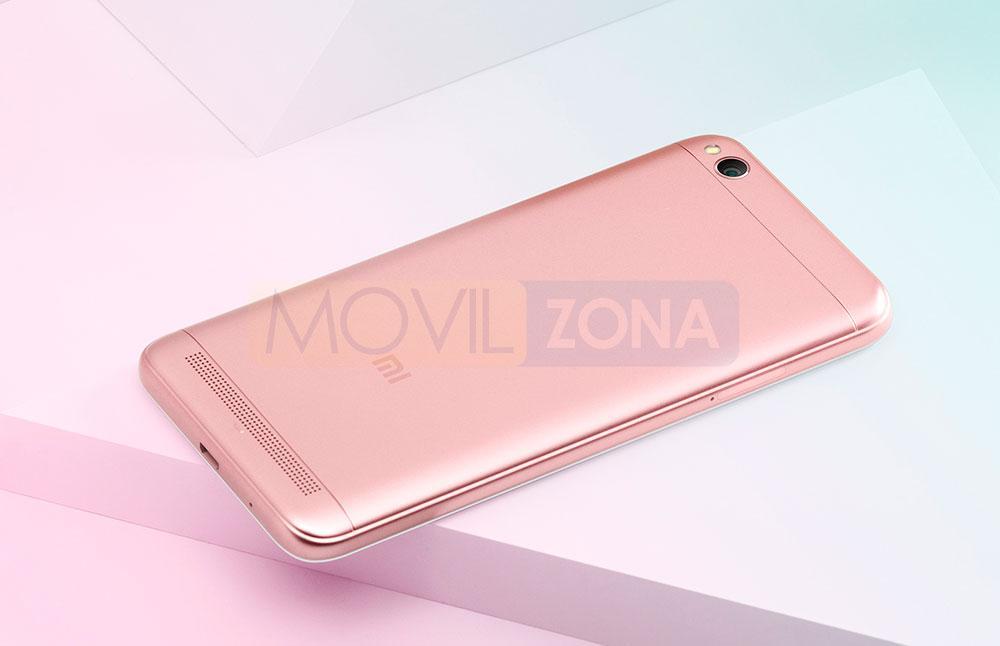 Xiaomi Redmi 5A en color rosa
