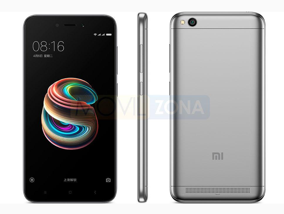Xiaomi Redmi 5A en color gris