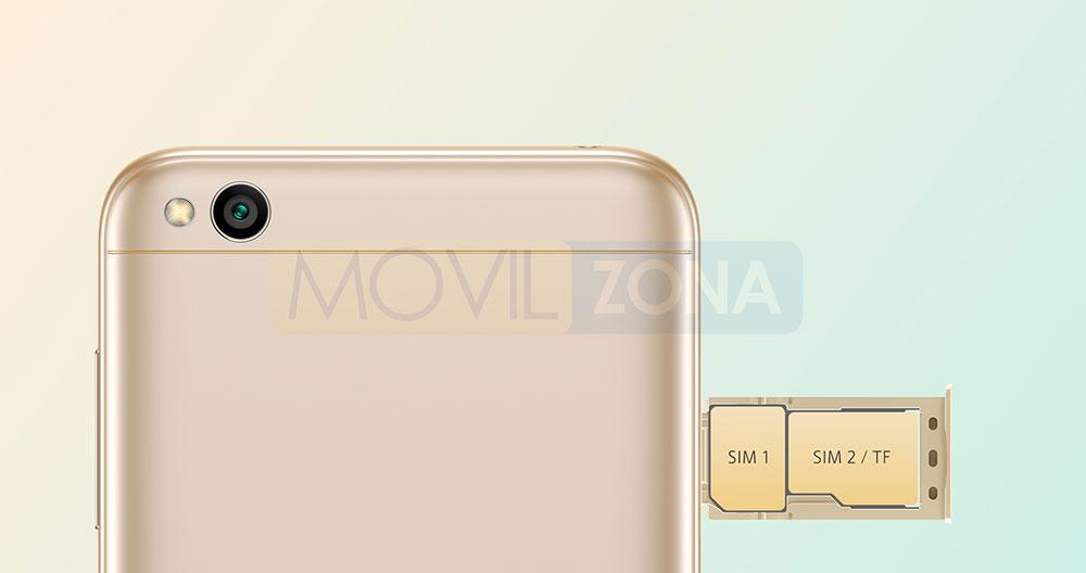 Xiaomi Redmi 5A doble SIM