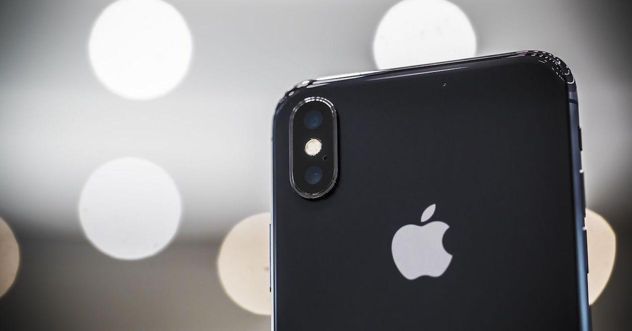 iphone x detalle cámara